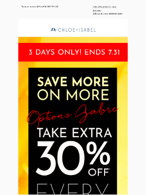Travel worthy styles up to 85% off