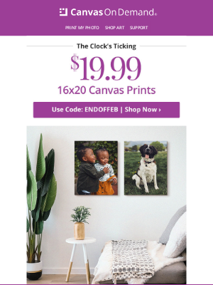 Canvas On Demand - 90% off 16x20