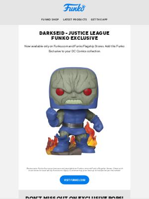 Funko - New Release Alert: Darkseid - Justice League