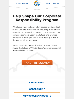 Survey - Help Shape Our Corporate Responsibility Program