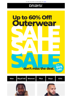 DrJays.com - Up to 60% Off Jackets, Bombers & Puffers!
