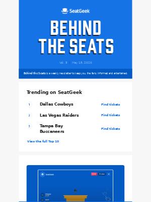 Behind the Seats, Vol. 5