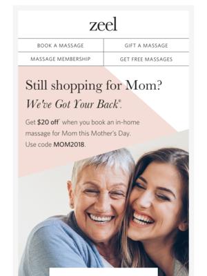 Still shopping for Mom?