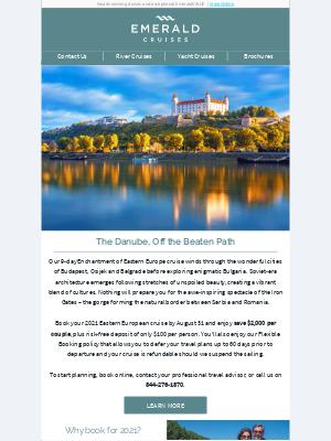 Emerald Waterways - Return to cruising on the Danube