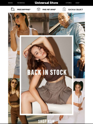Universal Store - We believe in second chances 😍