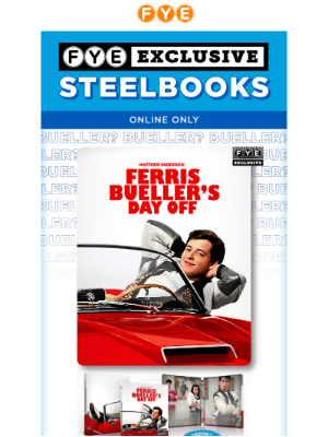Laugh it up with these NEW Exclusive Steelbooks
