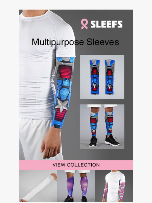 NEW Multipurpose Sleeves 🏃 for Legs 🦵 OR Arms 💪