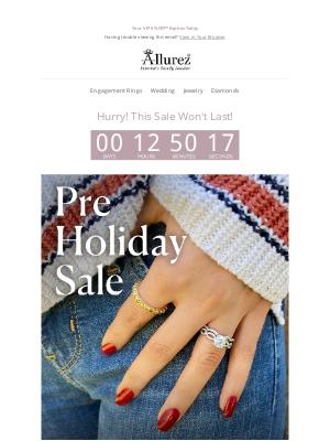 Allurez - Your VIP 5% OFF* Expires Today