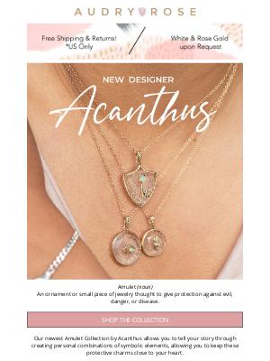 Audry Rose - Enchanted Amulets! Meet new designer, Acanthus!✨