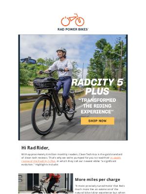 Rad Power Bikes - A significant evolution