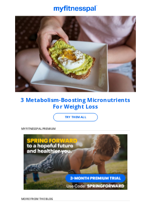 MyFitnessPal - 3 Metabolism-Boosting Micronutrients For Weight Loss