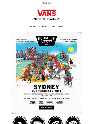 House of Vans Sydney: Get Tickets NOW!