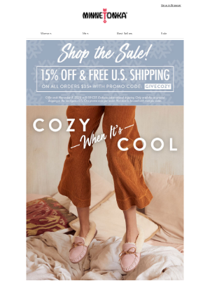 Minnetonka Moccasin - Our Most Luxe Slippers (Plus 15% Off EVERYTHING!)