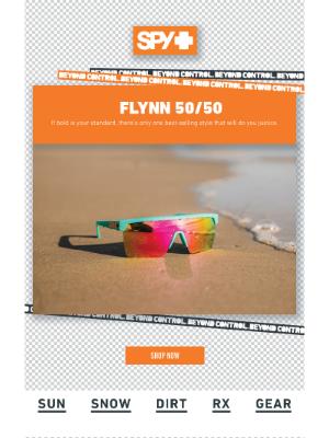 Spy Optic - Back in Stock: Flynn 50/50