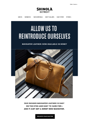 Shinola - An old friend with a new look