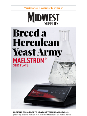 Midwest Supplies - How to Make a Healthy Yeast Starter