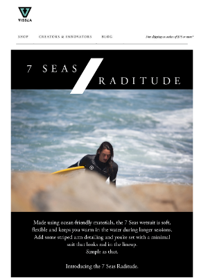 VISSLA - Introducing the 7 Seas Raditude