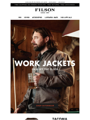 New & Classic Work Jackets