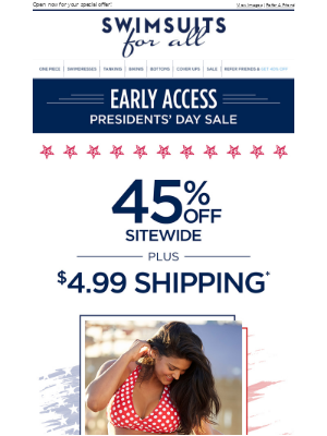 Nothing like a long weekend (and early access to our sale!)
