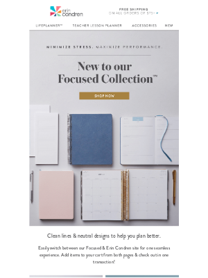 Erin Condren - NEW Additions to Our Focused Collection