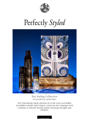 Oribe - The Gift of Perfectly Styled Hair