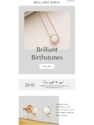 Brilliant Earth - Brilliant birthstones