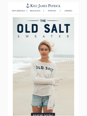 Introducing the Old Salt Sweater