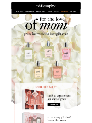 just arrived! NEW grace gift sets for mom