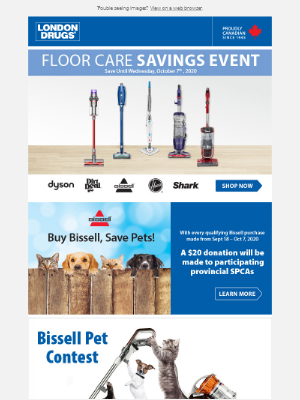 London Drugs (CA) - Floor Care Savings Event on now!