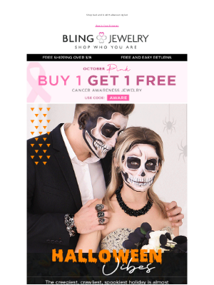 Bling Jewelry - Haul-o-ween Jewelry you need + Shop BOGO Cancer Awareness Jewelry Sale!