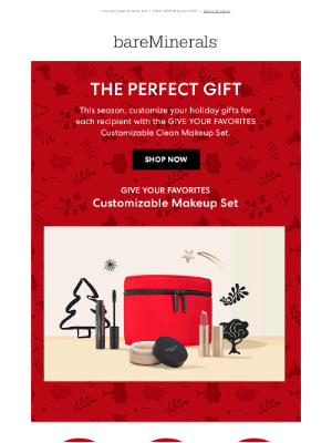 bareMinerals - Top of your holiday list?