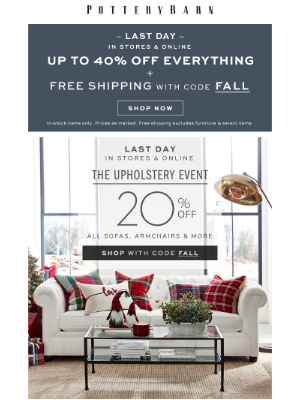 Ends Tonight! Up to 40% Off EVERYTHING