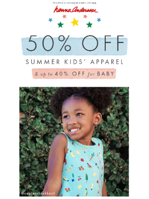 Don't miss out on 50% off!