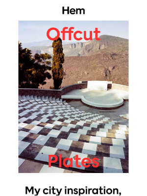 Offcut Plates: Inspired by the city