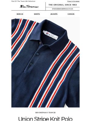 Ben Sherman - The Union Stripe Knit Polo