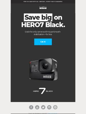 Save big on HERO7 Black