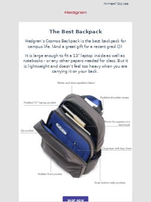 Hedgren - The Best Backpack