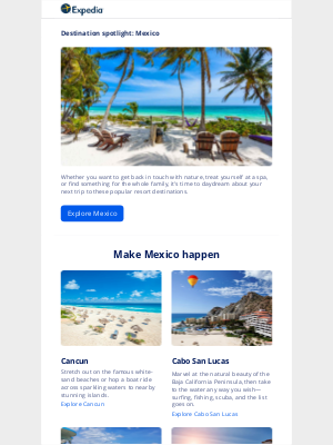 Expedia - Imagine yourself in Mexico