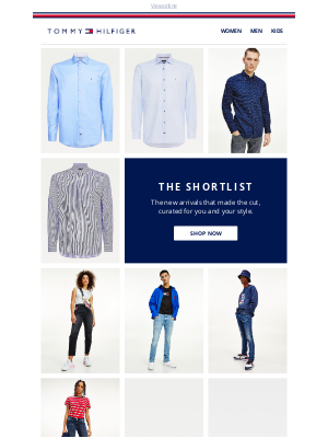 Tommy Hilfiger - The top 10 styles for you