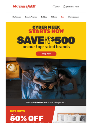 Mattress Firm - Are you ready to save big?