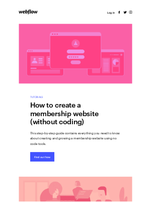 How to create a membership site (without coding) ⚡️