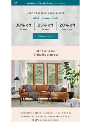 Joybird - Cozy Up to Our Mid-Winter Sale