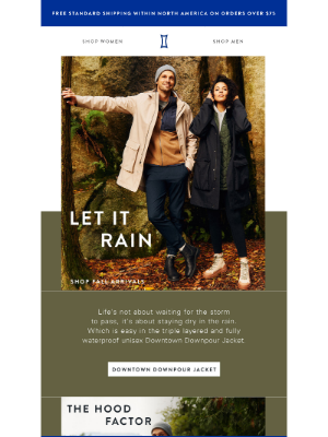 Kit and Ace - New Arrival: The Downtown Downpour Jacket