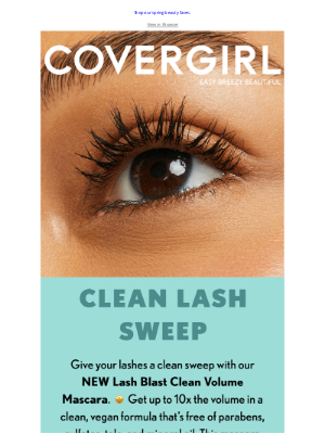 COVERGIRL - Makeup May'd Clean 🌸