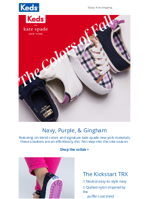 Keds - Fall colors are here