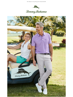 Tommy Bahama - New Styles for Relaxologists & Adventurers Alike!
