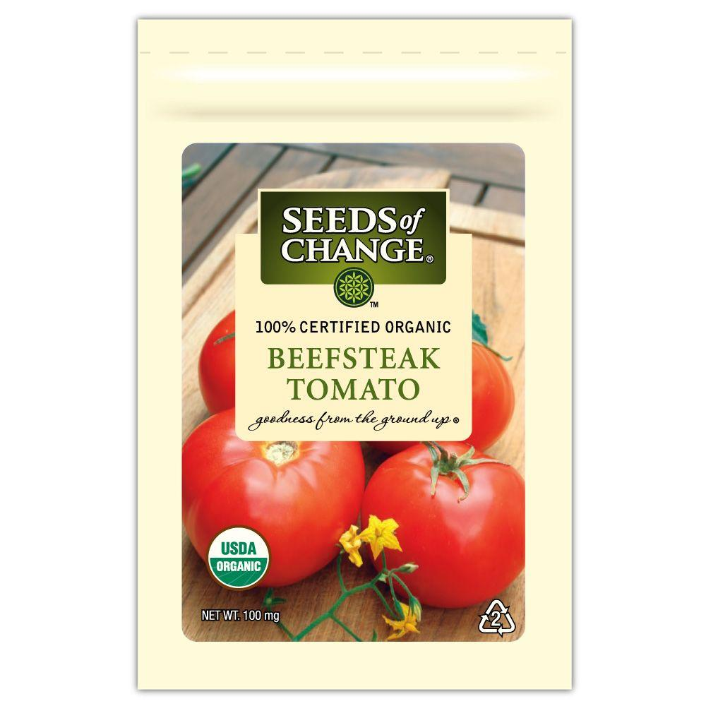 Seeds of ChangeTomato Beefsteak (1-Pack)