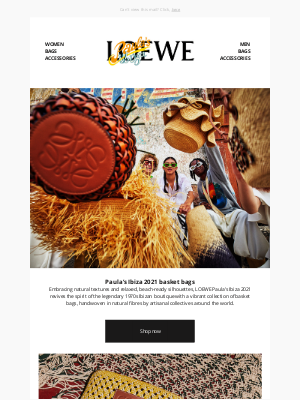 Loewe - Weaving colour, texture and craft