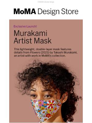 Museum of Modern Art Store (MoMA) - Just In! Takashi Murakami Mask