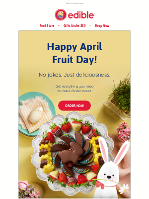 Edible Arrangements - 🐰Hop to it…Easter is almost here!